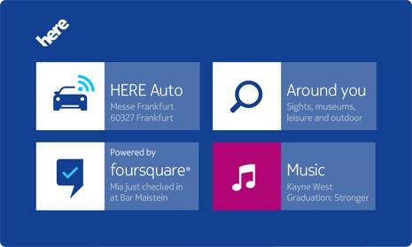 HERE Auto kuuluu Nokian aiempiin lanseerauksiin