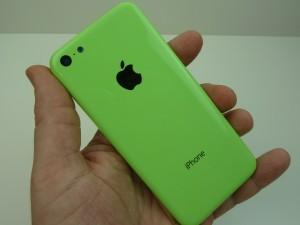 iPhone 5C:n väitetty vihreä kuori uudessa vuotokuvassa