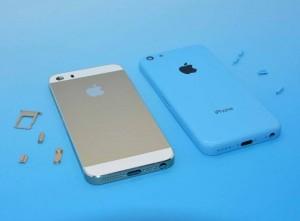 iPhone 5S:n ja iPhone 5C:n kuoret Sonny Dicksonin julkaisemassa kuvassa