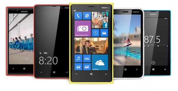 Nokian Lumia-mallistoa