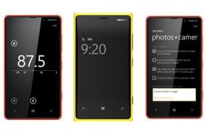 Nokia Lumia Amberin uudistuksia: FM-radio, Glance Screen -vilkaisunäyttö ja uudistuneet kamera-asetukset