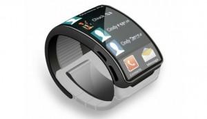 Konseptikuva Samsungin älykellosta - ei välttämättä muistuta todellista tuotetta