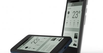 Alcatel One Touch Hero ja E Ink -kuori