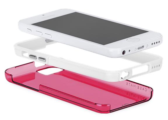 Apple iPhone 5C @evleaksin julkaisemassa kuvassa