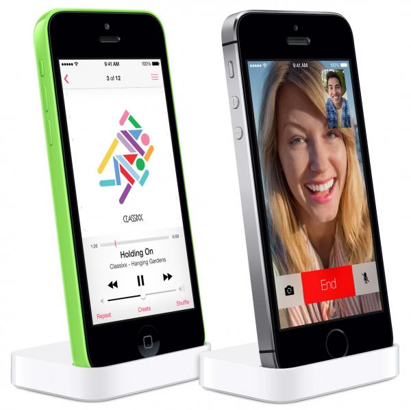 Applen telakat iPhone 5c:lle ja iPhone 5s:lle