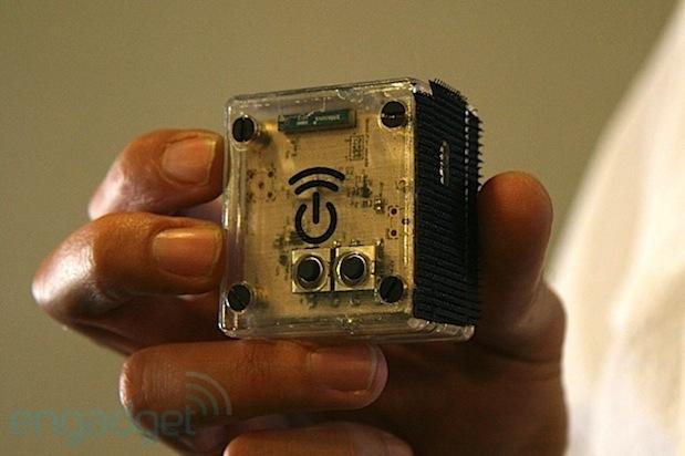 Ossian Cotan tämän hetken prototyyppi Engadgetin kuvassa