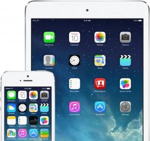 iOS 7 iPhonessa ja iPadissa