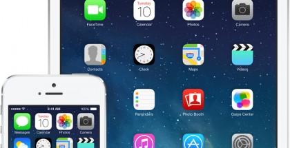 Nykyinen iOS 7 iPhonessa ja iPadissa