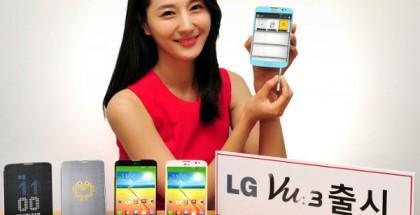 LG Vu 3 esittelyssä