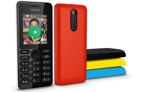 Nokia 108 eri väreissä