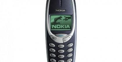 Alkuperäinen Nokia 3310.