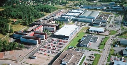 Nokian ja Microsoftin entisen Salon yksikön tiloja, joista kaupunki yhdessä kiinteistösijoittajien on käynyt neuvotteluja ja tehnyt ostotarjouksen.