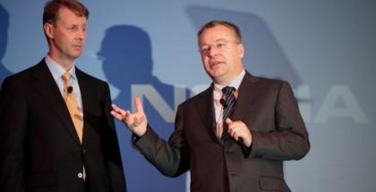 Siilasmaa ja Elop tänään Nokian tiedotustilaisuudessa