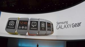 Samsung Galaxy Gear esiteltiin Samsungin tilaisuudessa