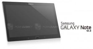 Samsungin 12,2 tuuman tabletti Move Player -sivuston julkaisemassa kuvassa