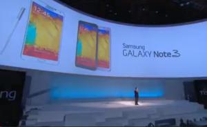 Samsung Galaxy Note 3 esiteltiin Samsungin tilaisuudessa