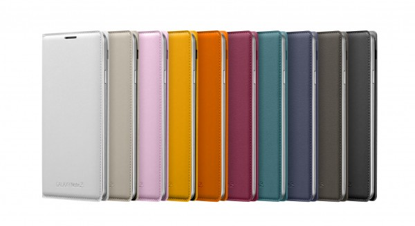 Samsung Galaxy Note 3:n Flip Cover -kuoret