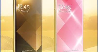 Samsungn kultaiset Galaxy S4:t