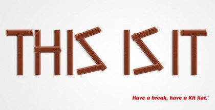 KitKatin julkaisema kuva heidän Twitter-tilillään