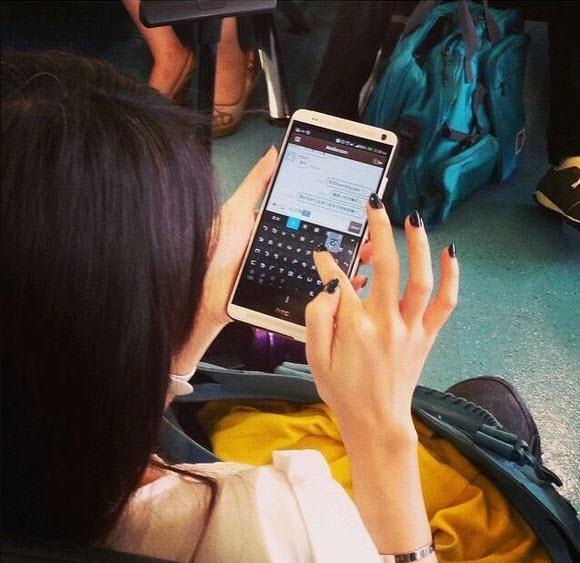 Live-kuva HTC One Max -puhelimesta