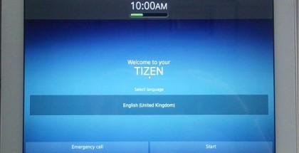 Ensimmäinen Tizen-käyttöjärjestelmään perustuva tabletti