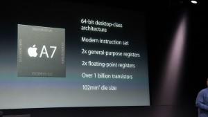 Apple A7:n esittely