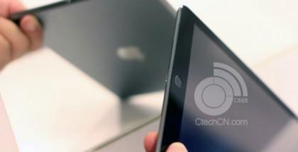 Väitetty 5. sukupolven iPad Touch ID -sormenjälkitunnistimella CTechCN:n kuvassa
