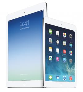 Applen uudet iPad Air ja iPad mini Retina-näytöllä