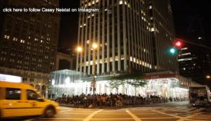 Kuvankaappaus Casey Neistatin videolta
