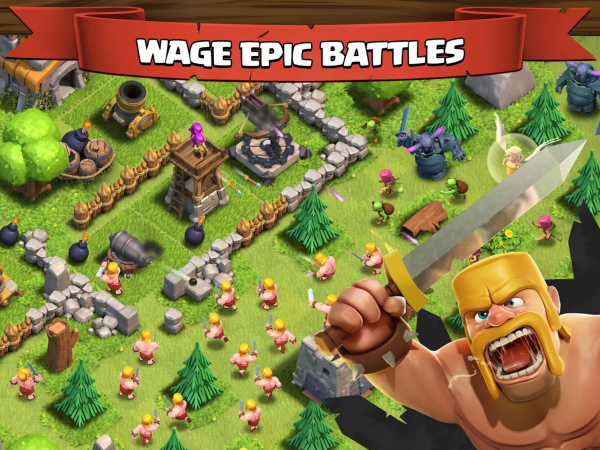 Clash of Clans Androidille