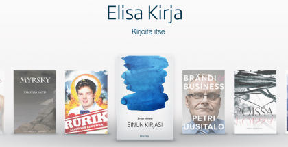 Elisa Kirja Kirjoita itse