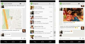 Google Hangoutsin uudistuksia: sijainnin jako, tekstarit ja GIF-kuvat