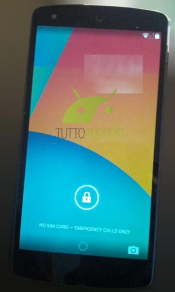Android KitKatin lukitusnäyttö