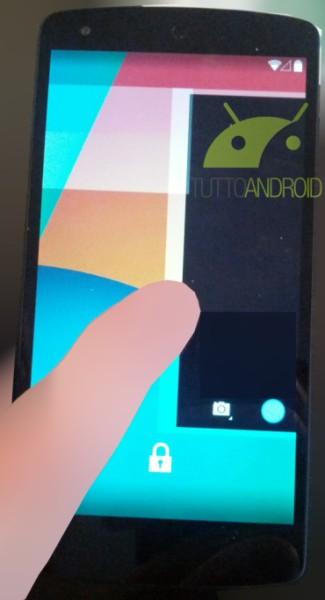 Android KitKatin kamerasovelluksen käynnistäminen lukitusnäytöltä
