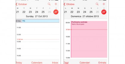 iOS 7:n kalenterissa kellojen siirto heitti ajasta kertovat viivat väärään kohtaan ainakin osalla käyttäjistä