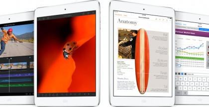 Apple iPad Air ja iLife- ja iWork-sovelluksia