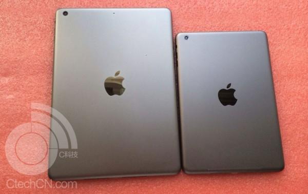 Tähtiharmaat iPadin ja iPad minin kannet CTechCN:n kuvassa