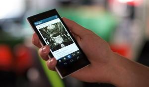 Jolla + Android-sovellus Instagram aiemmin julkaistussa kuvassa