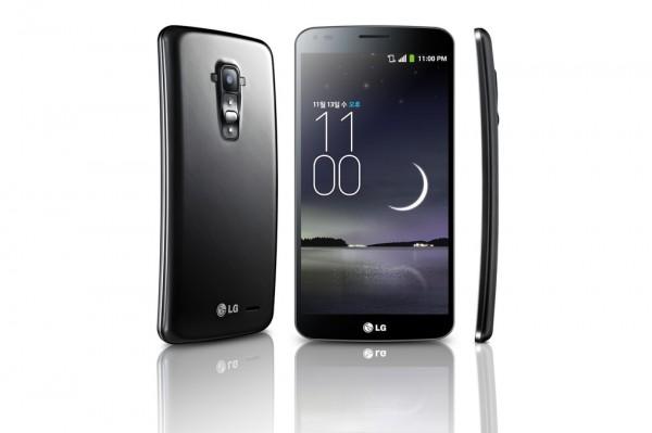 LG G Flex oli kaarevanäyttöinen.