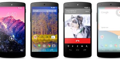 Nexus 5 kertaa neljä