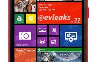 Nokia Lumia 1320 @evleaksin vuotamassa lehdistökuvassa