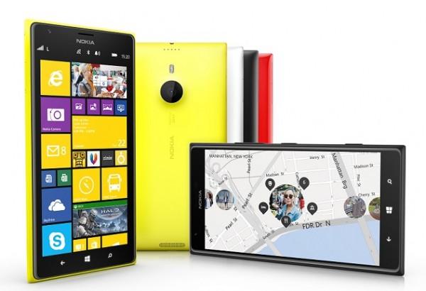 Nokia Lumia 1520 kansainvälisenä versiona