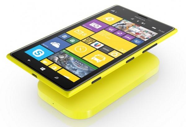Nokia Lumia 1520 ja langaton latauslaite