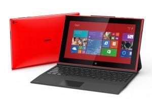 Nokian nykyinen Lumia 2520 ja Power Keyboard