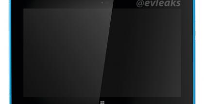 Nokia Lumia 2520 syaani @evleaksin vuotamassa lehdistökuvassa