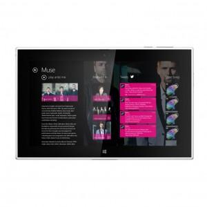 Nokia Music Lumia 2520:ssa