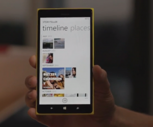 Nokia Storytellerin aikajananäkymä