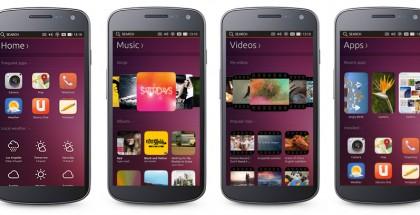 Ubuntun puhelinkäyttöliittymä