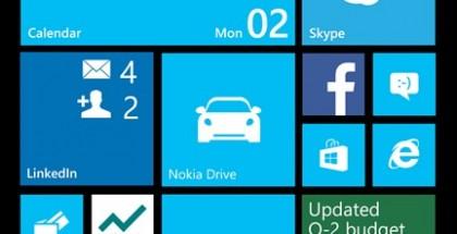 Windows Phone 8:n aloitusnäkymä laajenee yhdellä keskikokoisten ruutujen lisäsarakkeella