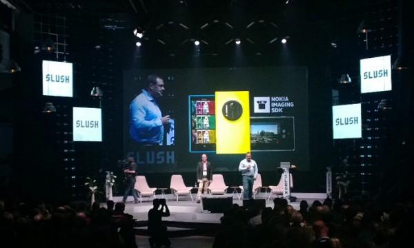 Nokian tilaisuus Slush -tapahtumassa